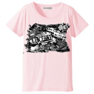 ゴシック風 Tシャツ(ピンク)