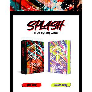 【10月9日開催/1部】Splash – MIRAE 2nd Mini Album【オンライン個別握手会対象】