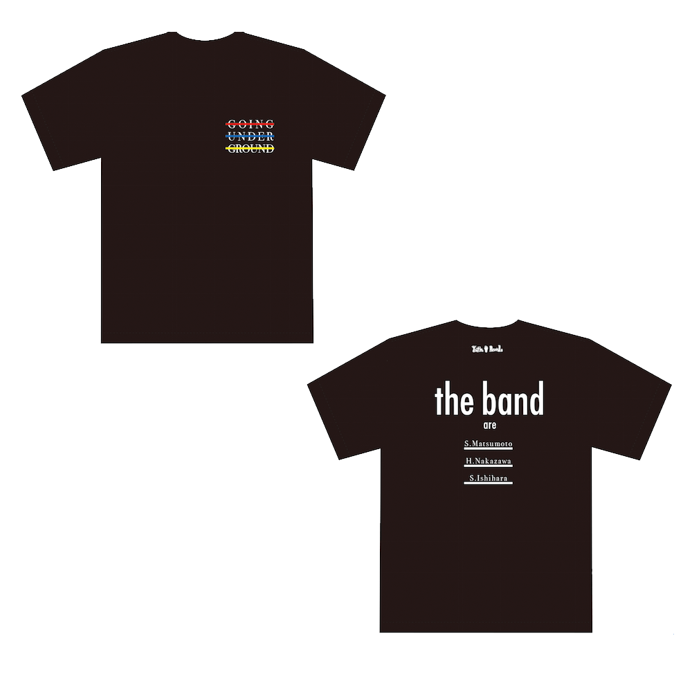 【SALE】「THE BAND」Tシャツ