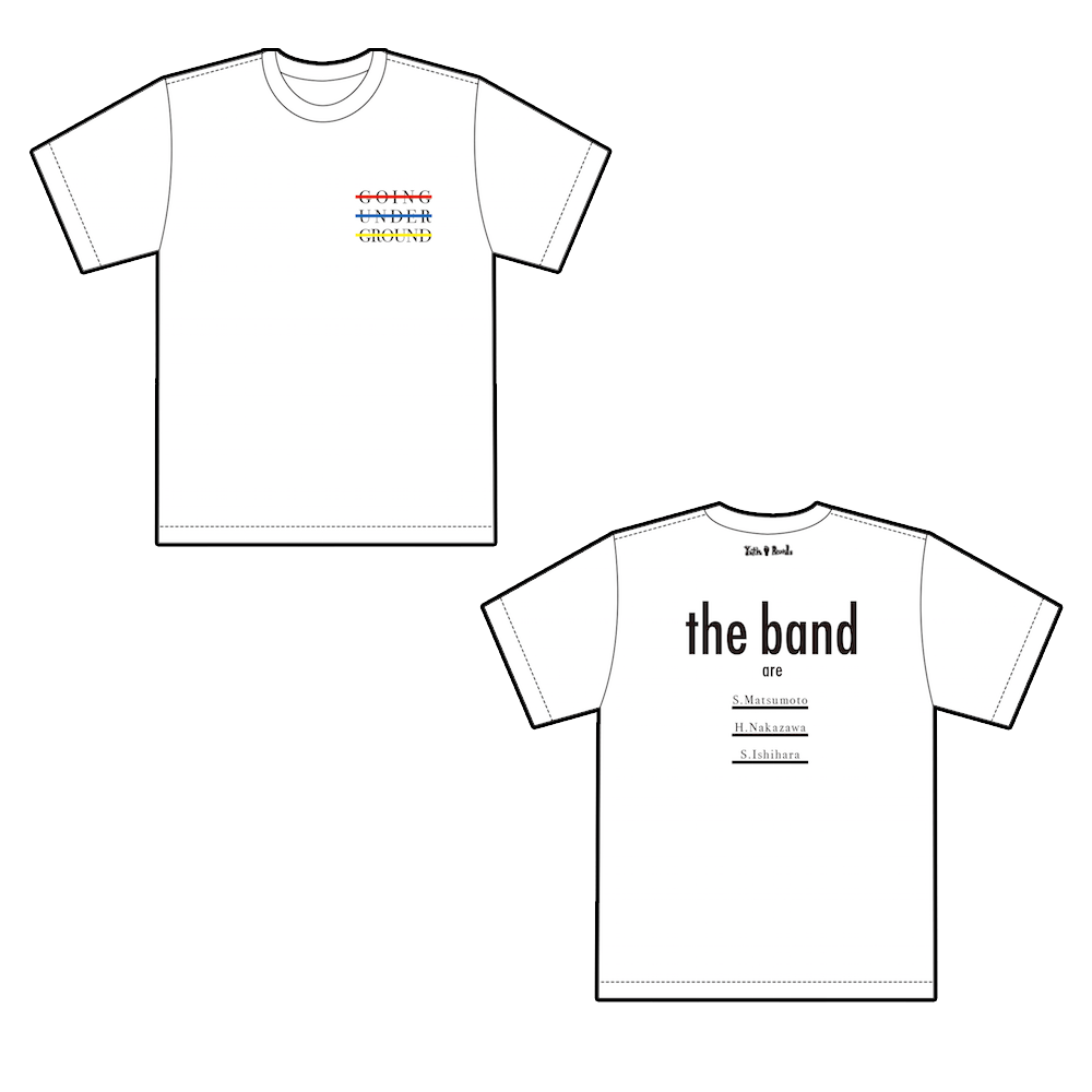 【SALE】「THE BAND」Tシャツ 白