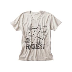 HY QUEST VネックTシャツ(オートミール)