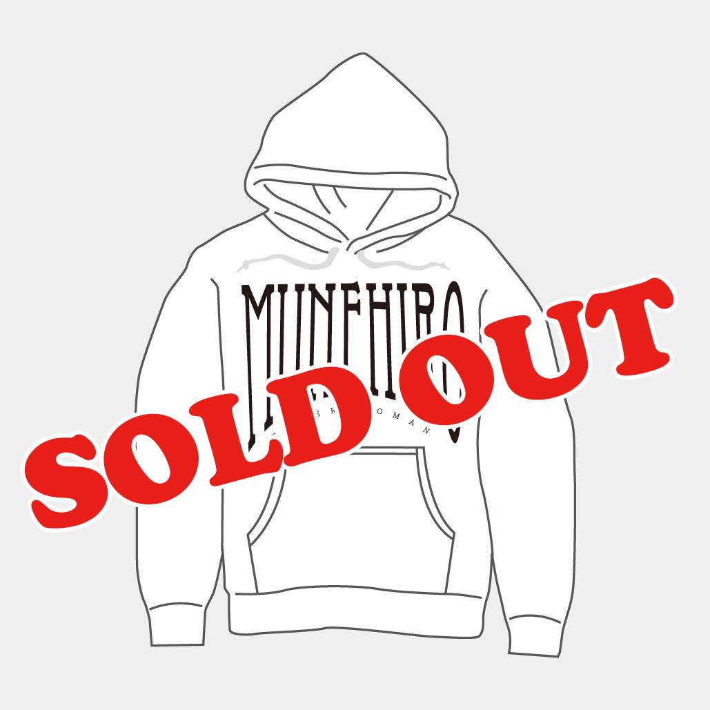 MUNEHIRO hoodie(White)