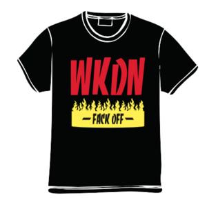 WKDNファイヤー Tシャツ(ブラック)