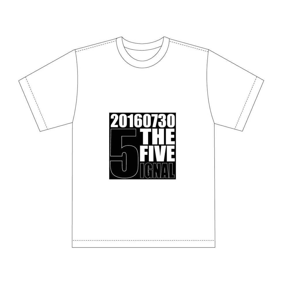 """""""THE FIVE"""" Tシャツ"""