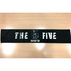 """""""THE FIVE"""" マフラータオル"""