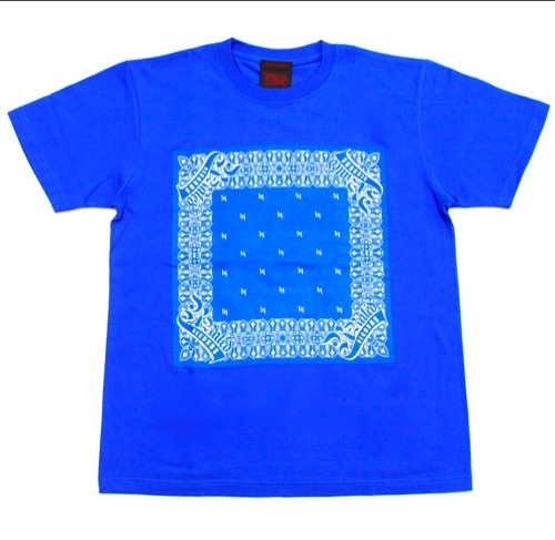 R-RATED BANDANA S/S Tee BLUE[RRRW-0006]