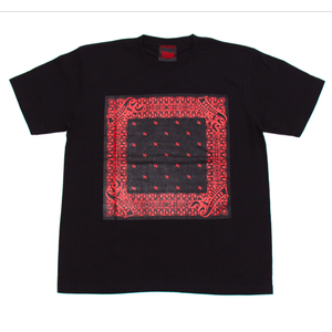 R-RATED BANDANA S/S Tee BLACK x RED[RRRW-0006]
