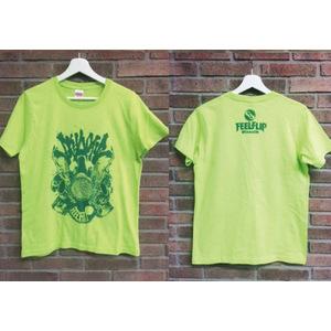 スカオティックTシャツ(ライムグリーン)