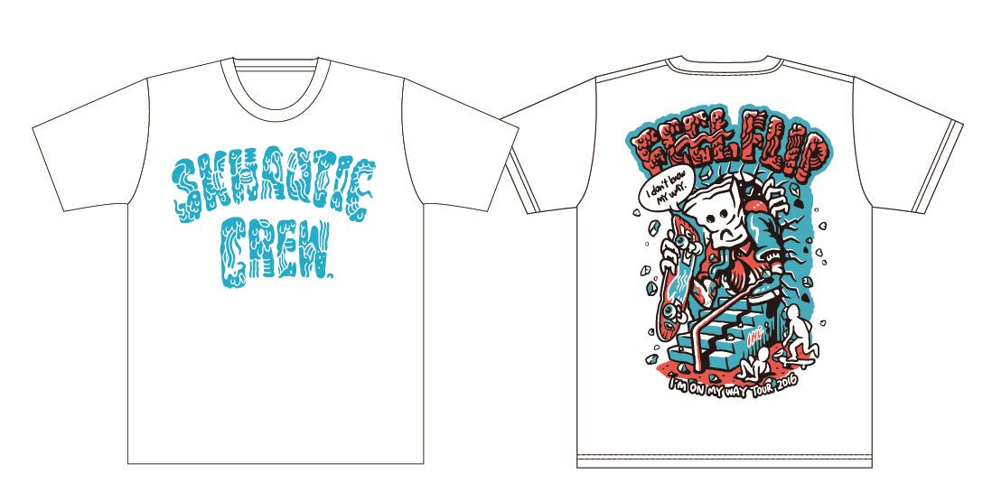 ツアーTシャツ(ホワイト)