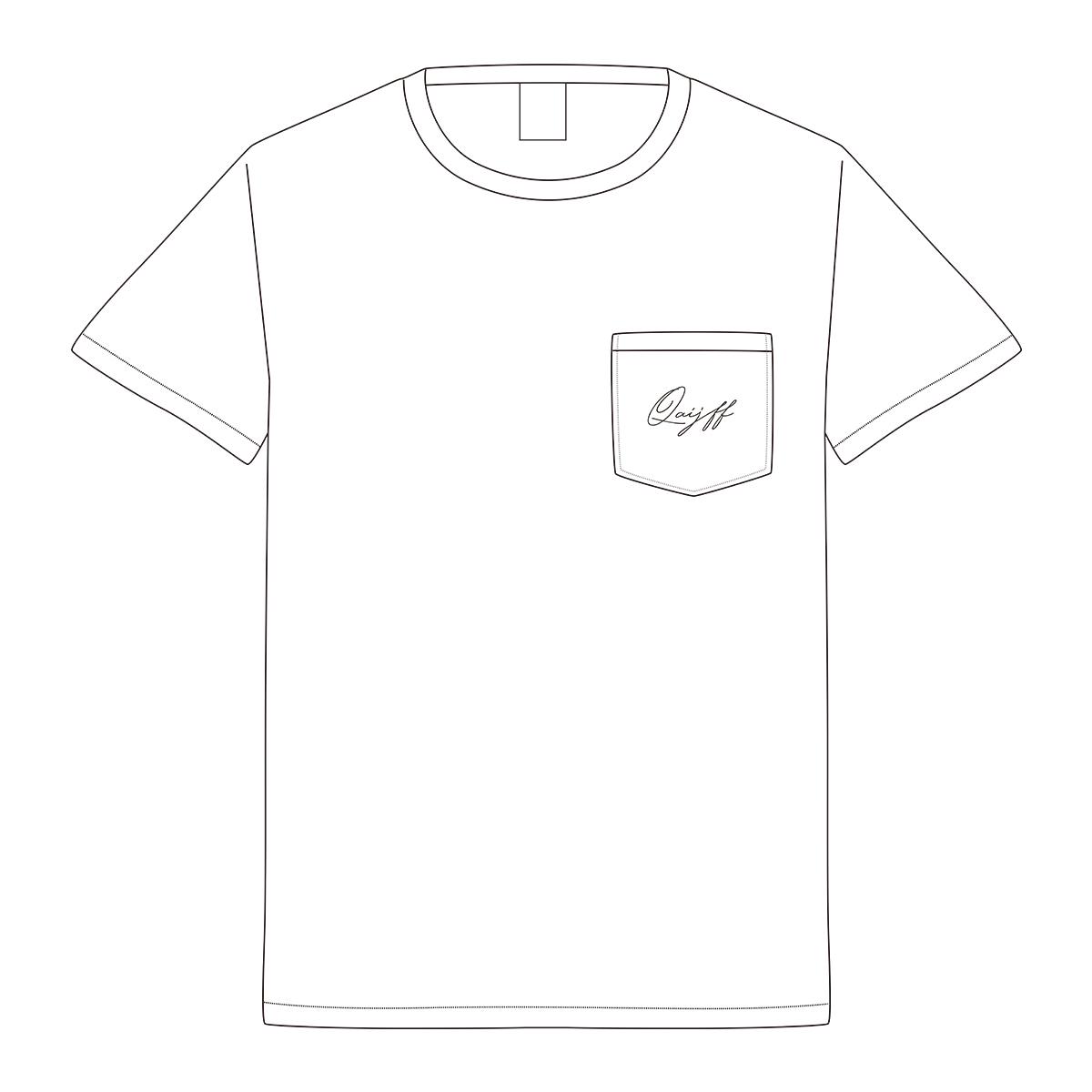 クアイフポケットTシャツ / ホワイト