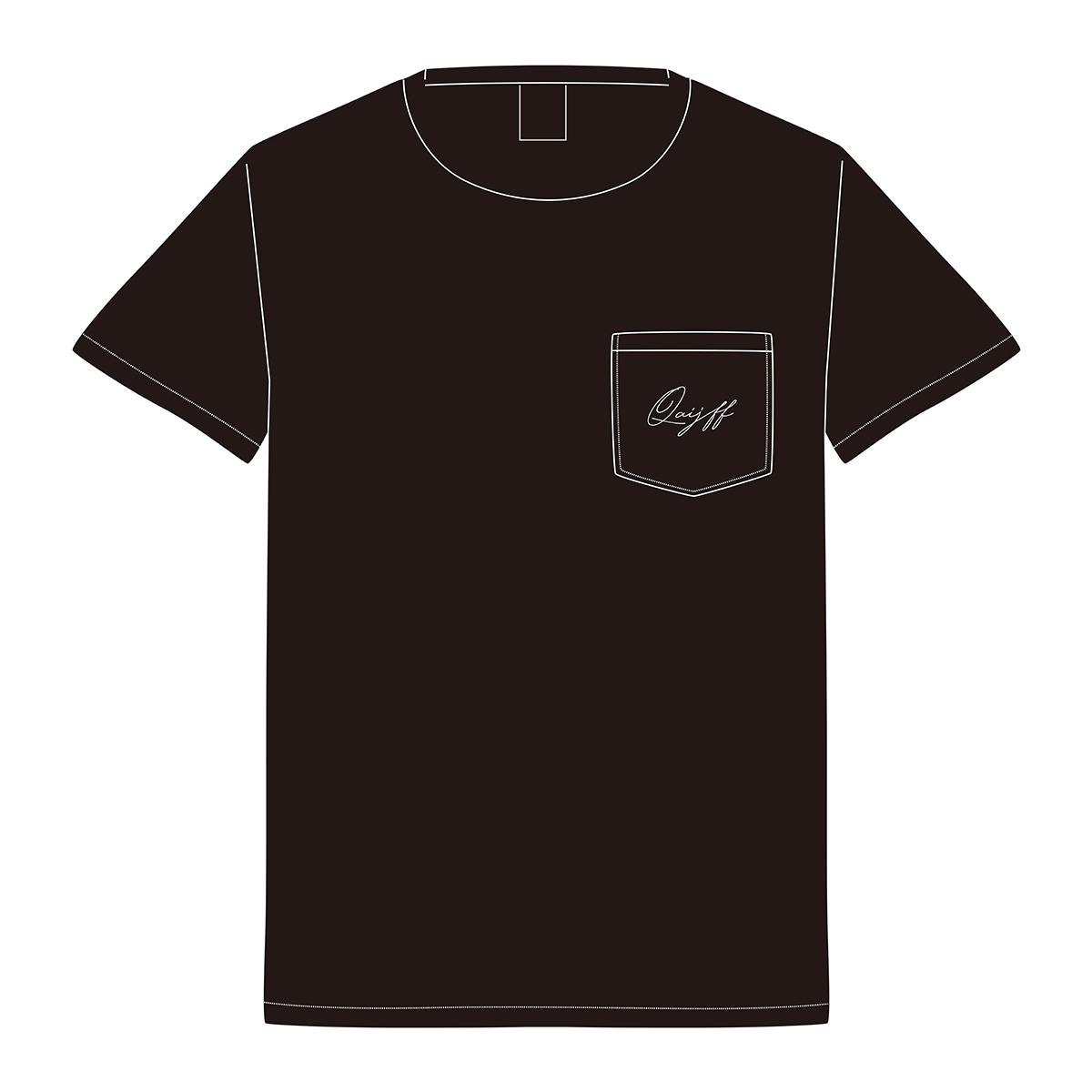クアイフポケットTシャツ / ブラック