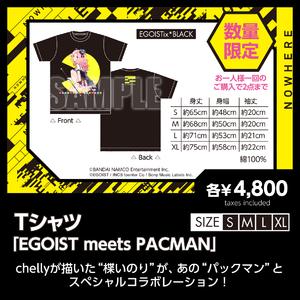 Tシャツ「EGOIST meets PACMAN」