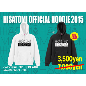 HISATOMI OFFICIAL HOODIE 2015
