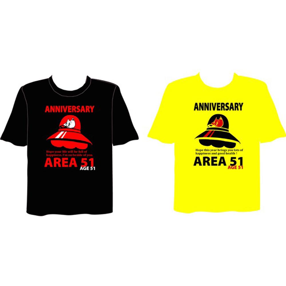51st  オーケンバースデーTシャツ