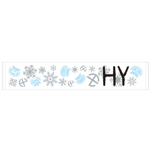 2013-14 WINTER SNOW タオル