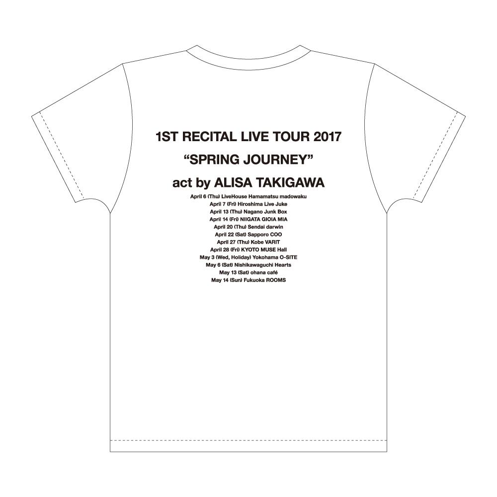 """""""Spring Journey""""ツアーTシャツ"""