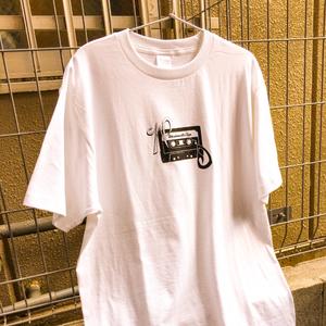 WAKADANNA Mix Tape T-shirt (ホワイト)