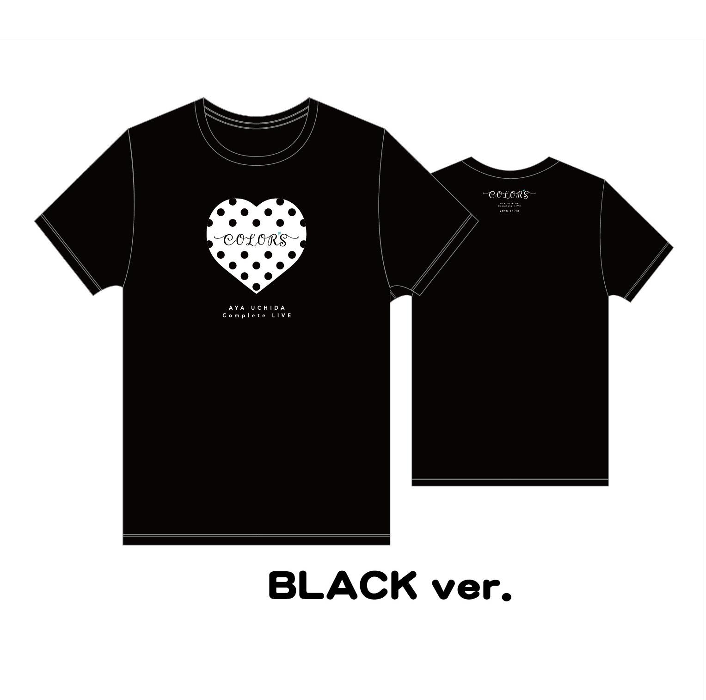 AYA UCHIDA Complete LIVE ~COLOR,S~ Tシャツ(BLACK ver.)