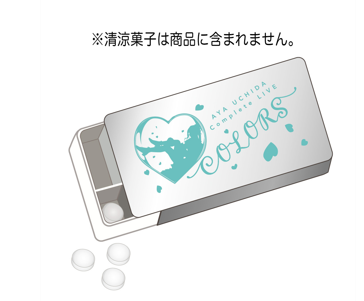 AYA UCHIDA Complete LIVE ~COLOR,S~ アップルミントケース