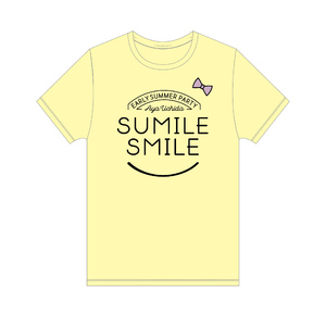 AYA UCHIDA Early summer Party ~SUMILE SMILE~ Tシャツ