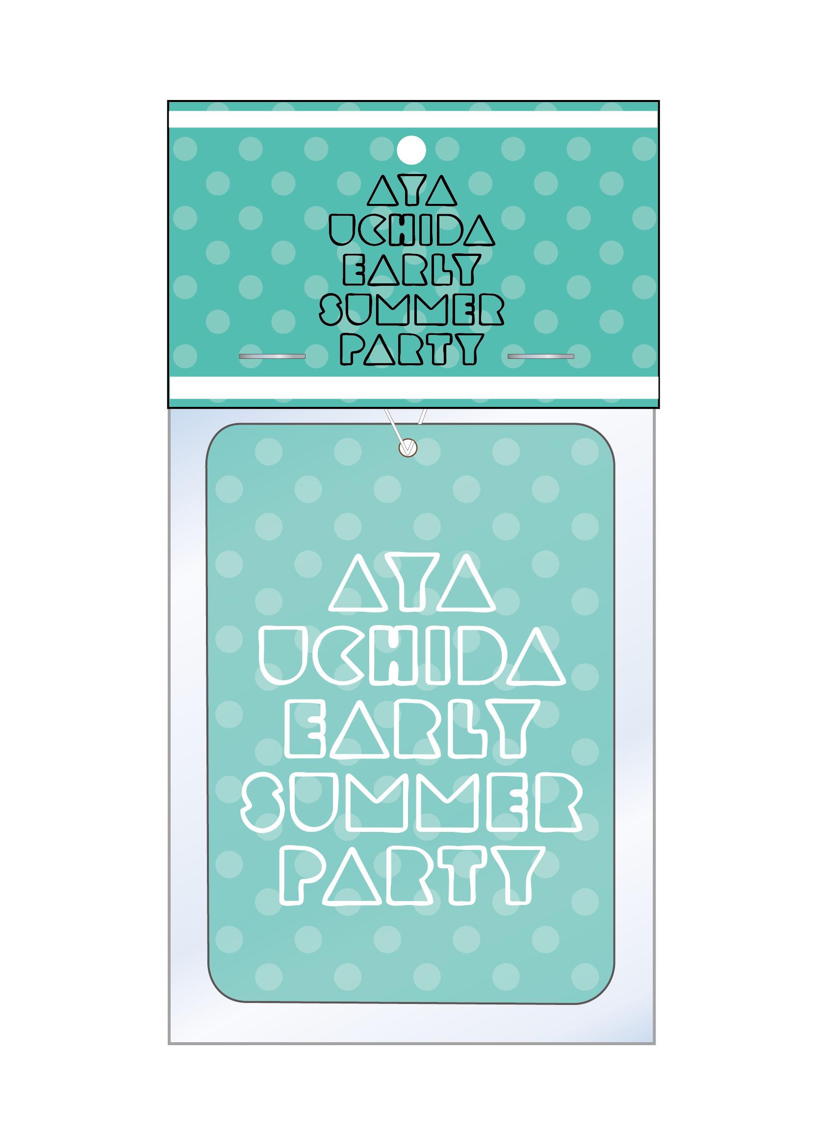 AYA UCHIDA Early summer Party ~SUMILE SMILE~ /~Everlasting parade~ ア-リ-サマ-パ-ティ-オリジナルフレグランス ※フレグランスカード付(カードには香りは付いておりません)