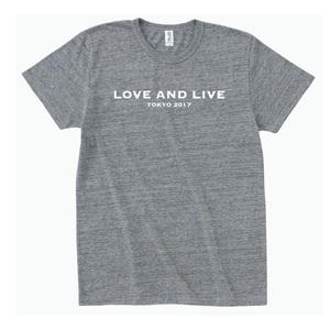青田典子トークイベントGirls Talk「LOVE&LIVE」Tシャツ【Mensグレー】