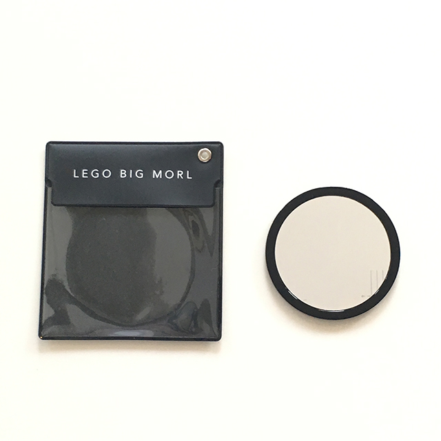 Compact Mirror with Case