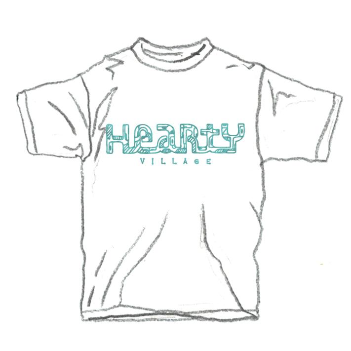 【HeartY】HeartY Village Tシャツ