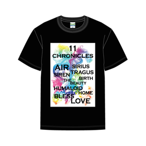 TOUR「11CHRONICLES」TシャツBK