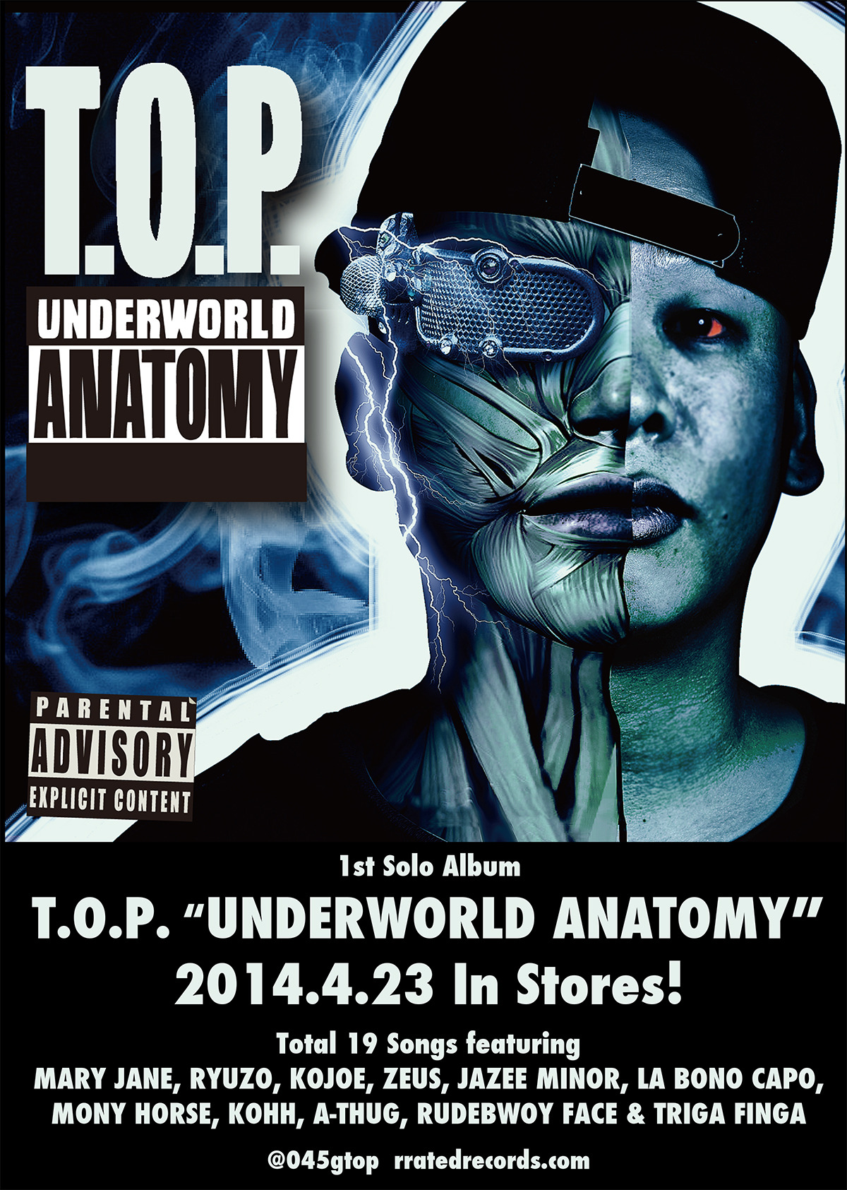 T.O.P. - UNDERWORLD ANATOMY ポスター