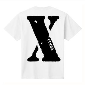 """""""X"""" T-SHIRT / WHITE"""