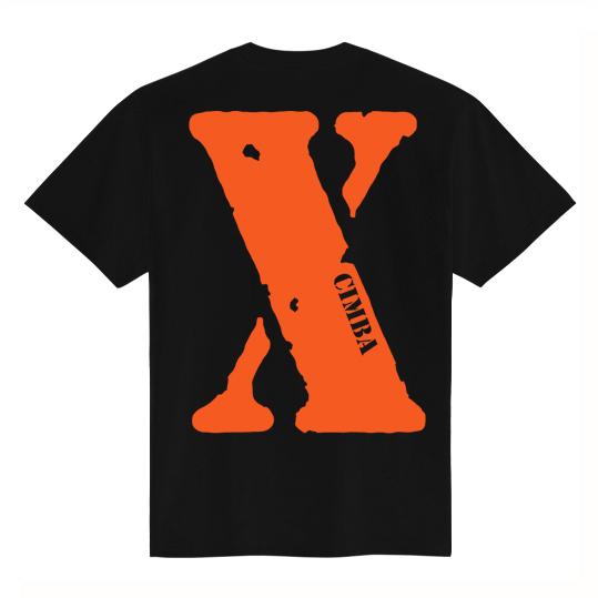 """""""X"""" T-SHIRT / BLACK"""