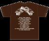 Hide's Music Story T-shirts(Chocolate)