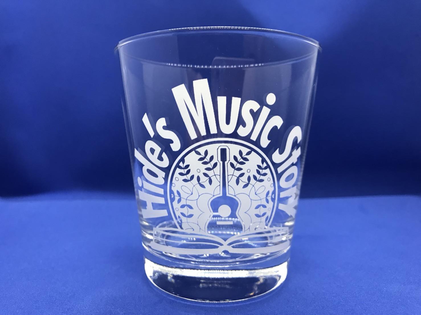 Hide's Music Story Original Glass (White)