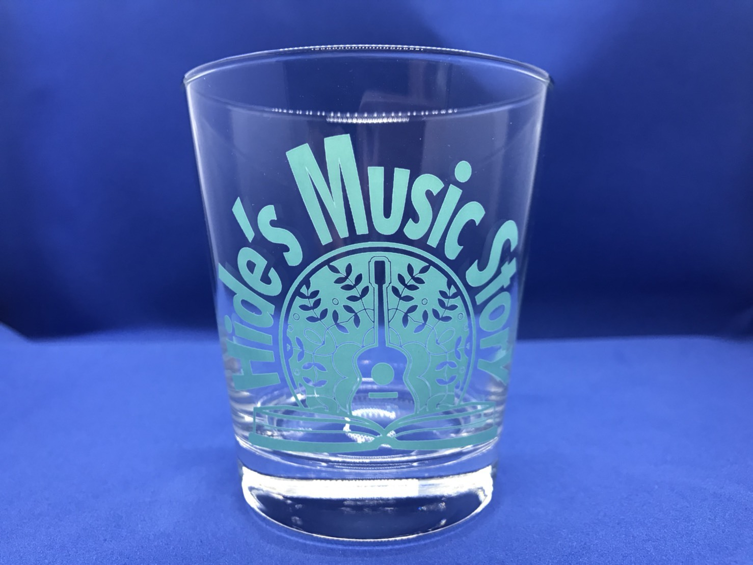 Hide's Music Story Original Glass (Turquoise Blue)