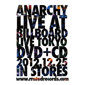 ANARCHY LIVE AT BILLBOARD LIVE TOKYO ポスター
