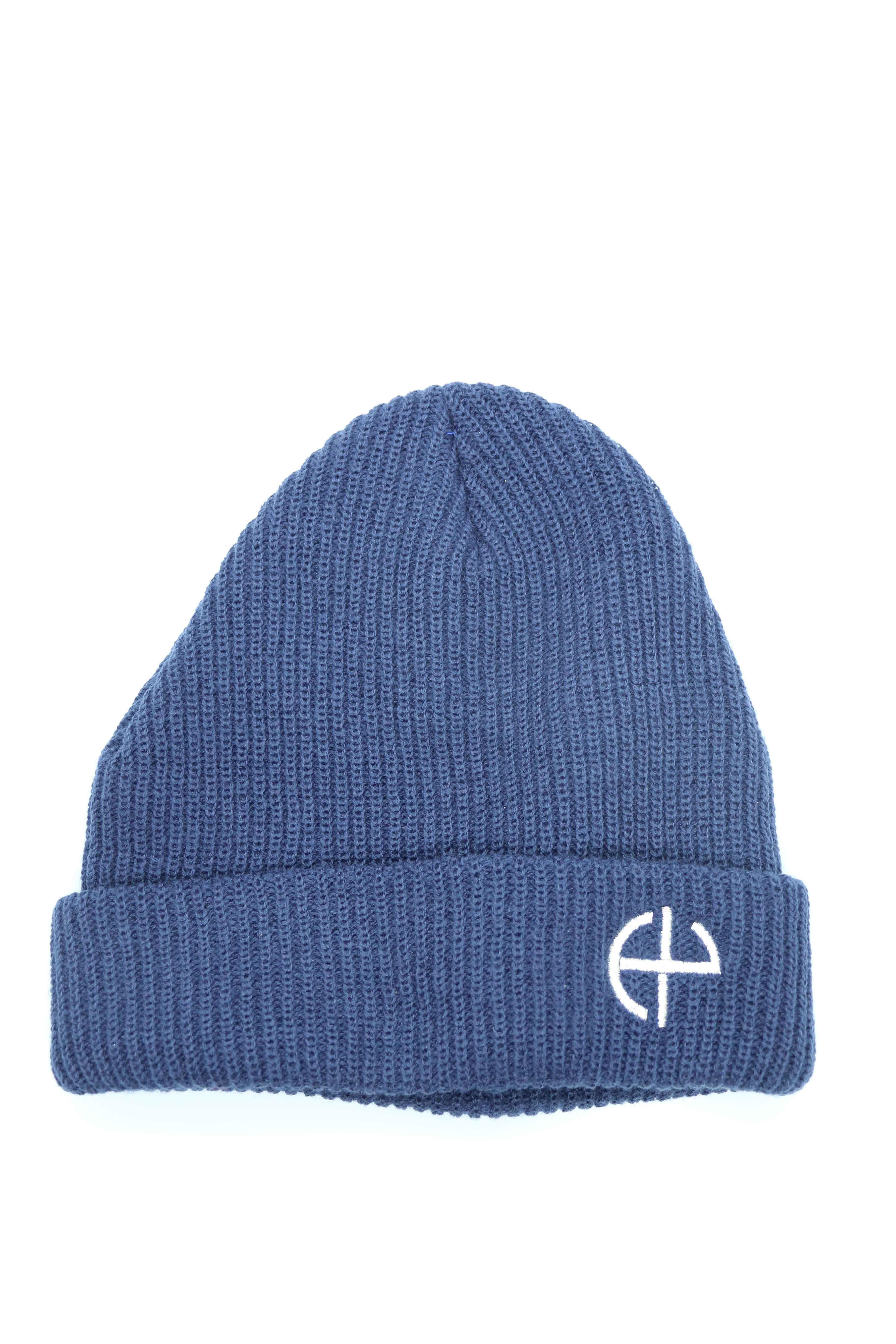 ニット帽(ネイビー)