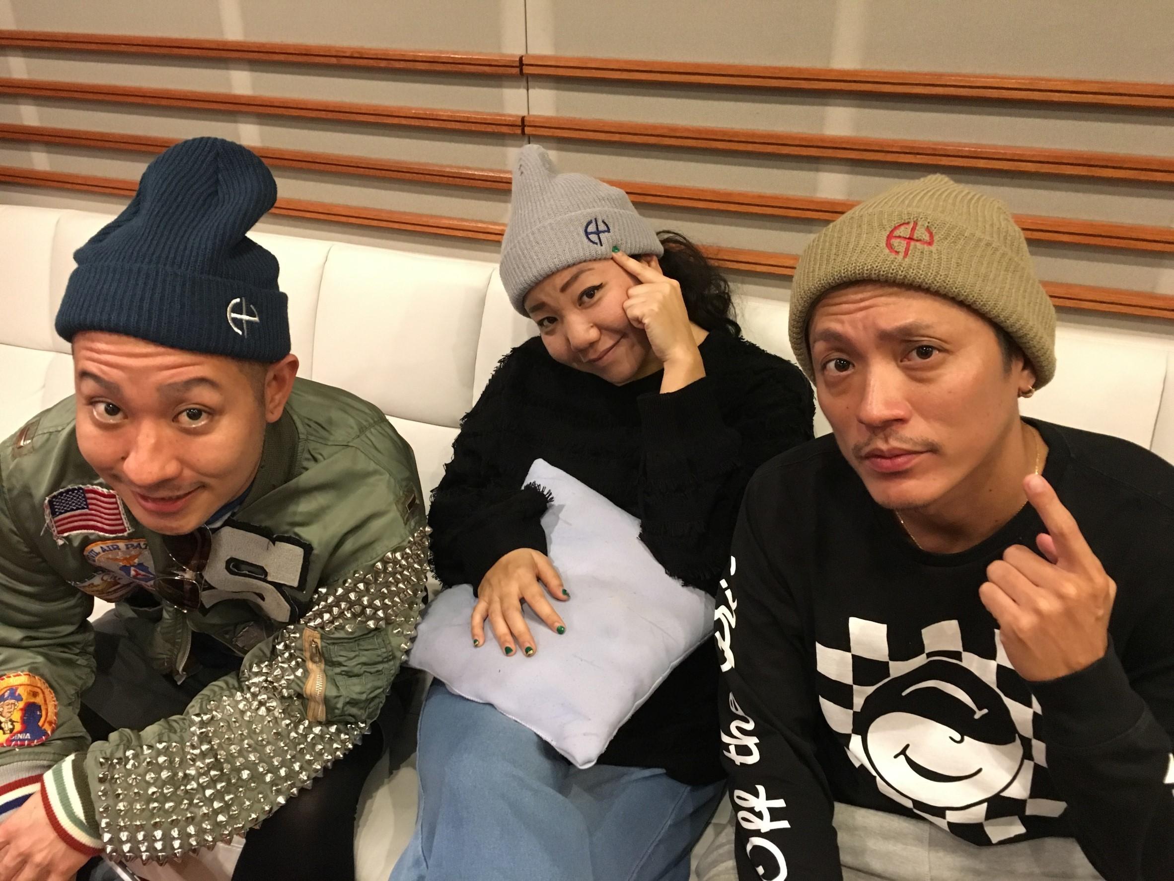 【HY HUB CLUB限定カラー】ニット帽(モカ)