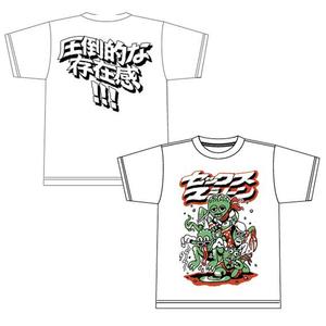 モンスターTシャツ(ホワイト)