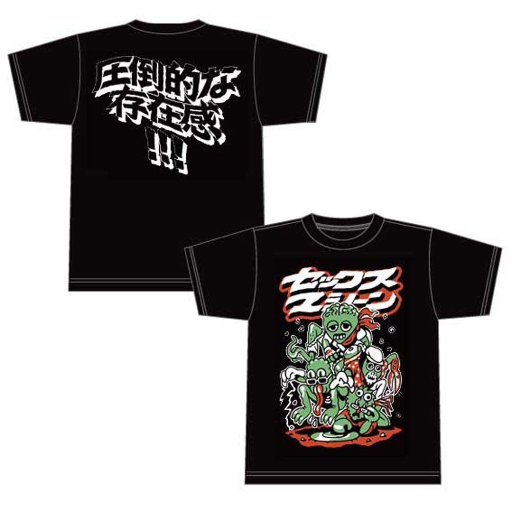 モンスターTシャツ(ブラック)