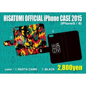 HISATOMIロゴ iPhoneケース