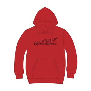 GET THE GLORYパーカー(RED)