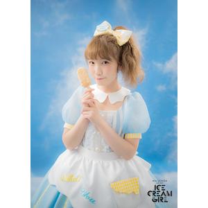 AYA UCHIDA LIVE2017 ICECREAM GIRL L判ブロマイド2枚セットA