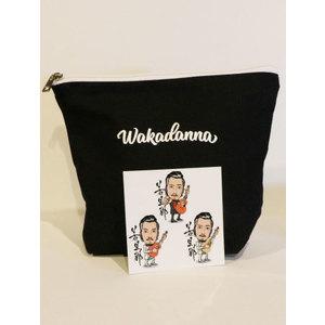 【数量限定】WAKADANNA ポーチ(ステッカー付き)