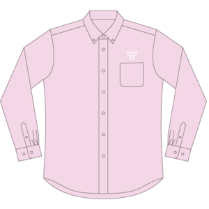 真野恵里菜 ボタンダウンシャツ レッド