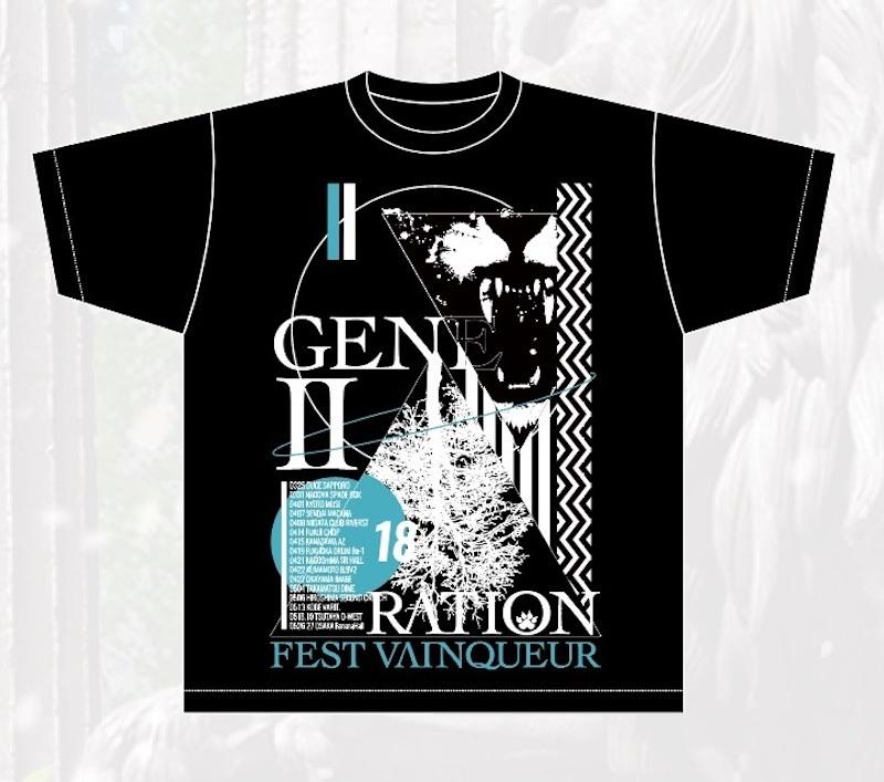 TOUR「GENERATION2」TシャツBK