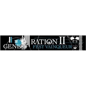 TOUR「GENERATION2」マフラータオルBK