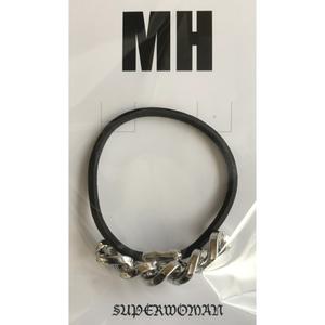 MH チェーンヘアゴム(シルバー)