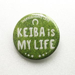 缶バッジ〈KEIBA is MY LIFE〉