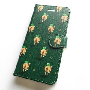 サラブレッドLOVE スマホケース(iPhone7/8対応サイズ) 手帳タイプ〈放牧に出ます〉